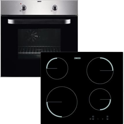Electric Fan Oven & Ceramic Hob Pack