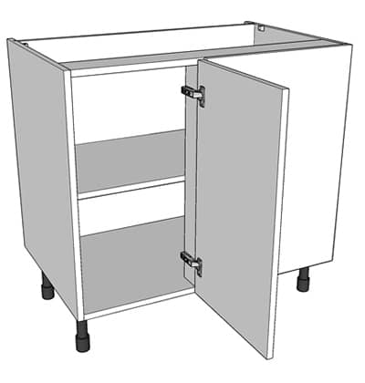 800mm Wide Highline Corner Base Unit
