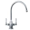 Franke - Corinthian Filterflow Swivel Spout Tap (Chrome) *