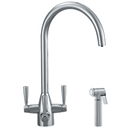 Franke - Doric Filterflow Hand Spray Tap (Silk Steel) *