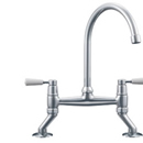Franke - Bridge Lever Tap (Silk Steel) *
