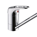 Franke - Top Lever Tap (Silk Steel) *