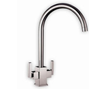 Ruscello Square Body Tap (Brushed Steel Finish)