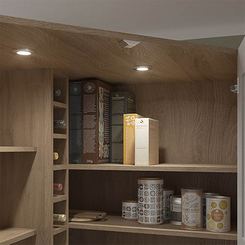 LED larder sensor light kit