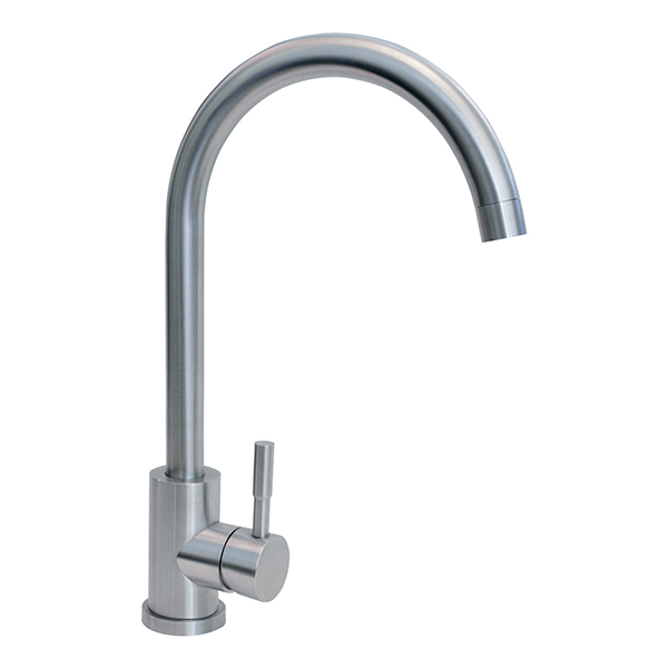 CDA - TC31SS - Single lever tap, Stainless steel