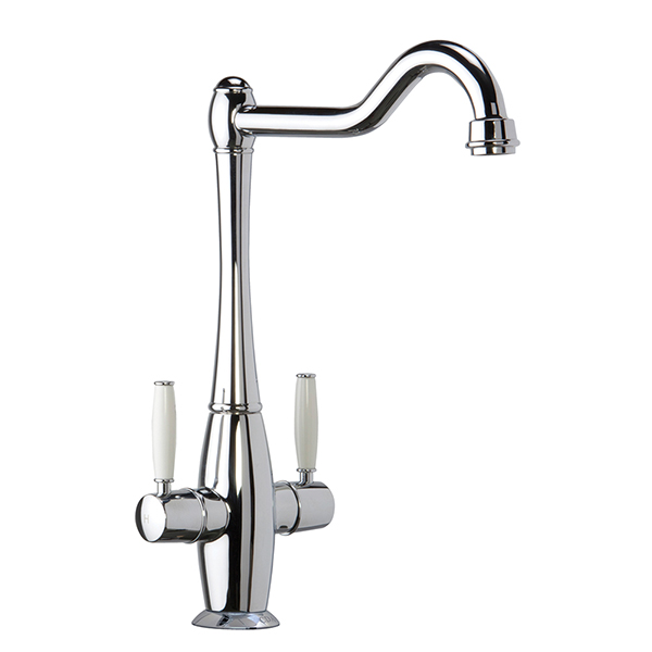 CDA - TT50CH - Traditional dual lever monobloc tap, chrome