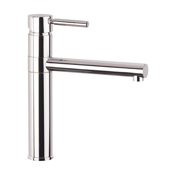 CDA - TV6CH - Round tower single lever tap, chrome