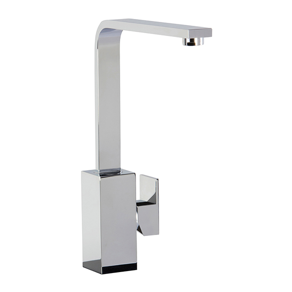 CDA - TV9CH - Contemporary square side single lever tap, chrome