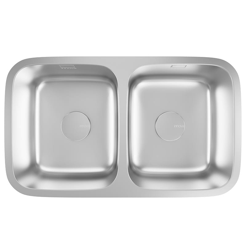 Lago 2 - Double Bowl Undermount Sink
