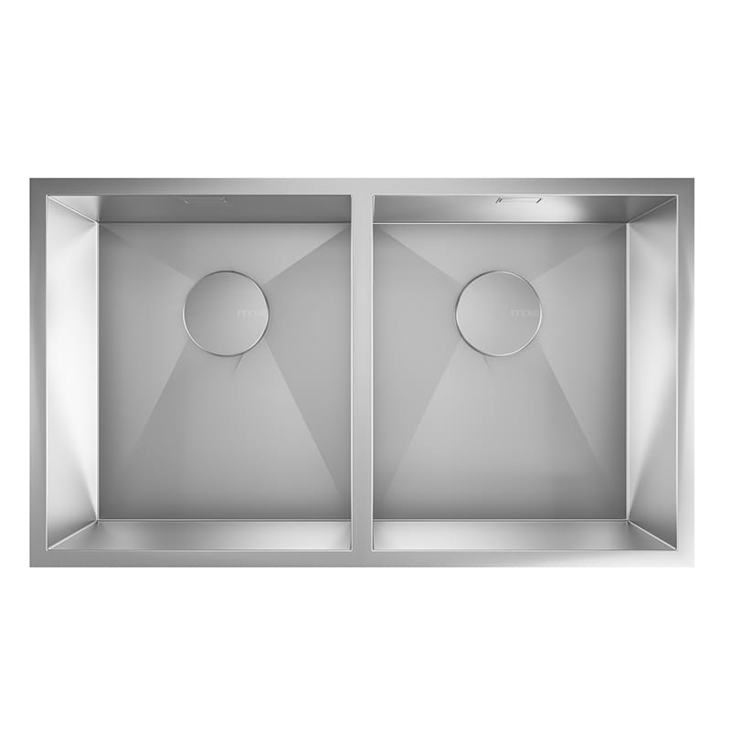 Piazza 2 - Double Bowl Undermount Sink