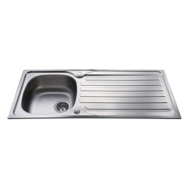 CDA - KA21SS - Single bowl sink, stainless steel