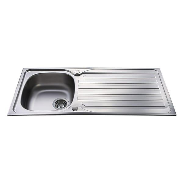 CDA - KA21SS - Single bowl sink, stainless steel
