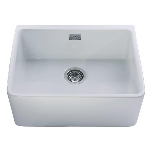 CDA - KC11WH - Ceramic Belfast style sink, white