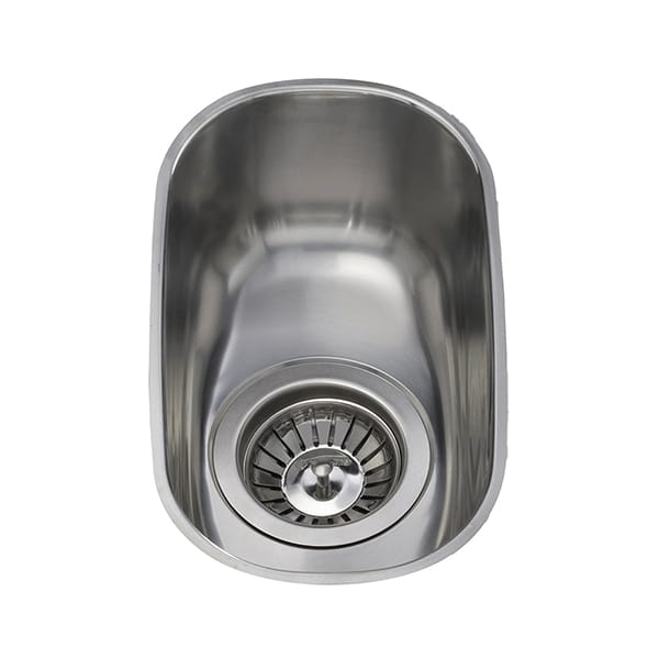 CDA - KCC21SS - Stainless steel undermount half bowl sink
