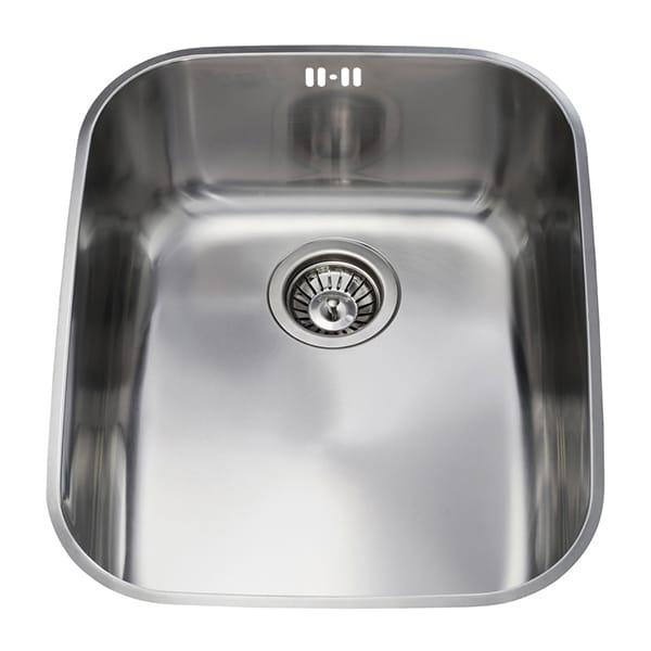 CDA - KCC24SS - Stainless steel undermount rectangular single bowl sink