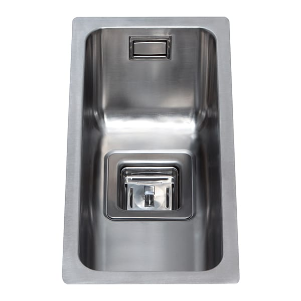 CDA - KSC21SS - Stainless steel undermount half bowl sink