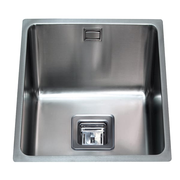 CDA - KSC22SS - Stainless steel undermount three quarter bowl sink