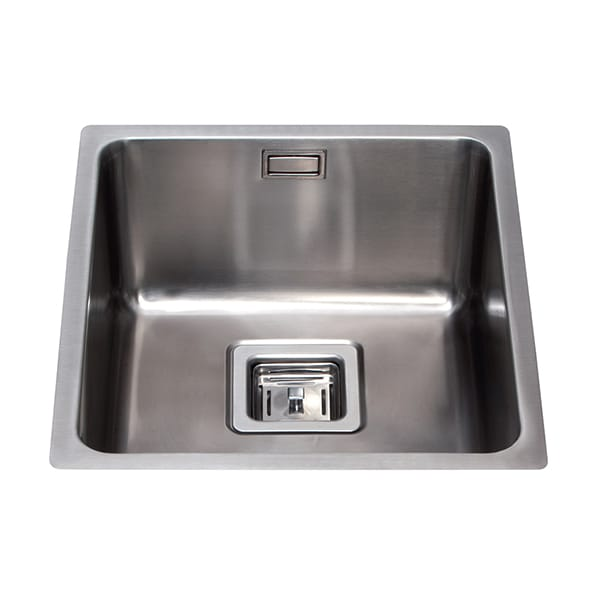 CDA - KSC23SS - Stainless steel undermount single bowl sink