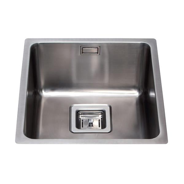 CDA - KSC23SS - Stainless steel undermount single bowl sink