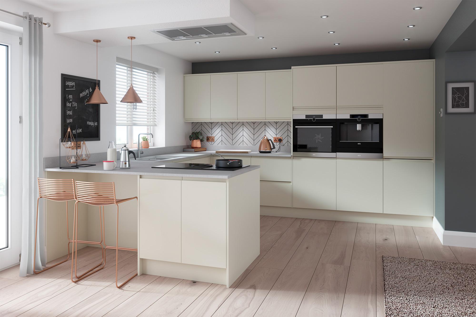 Handleless Kitchen Doors At Trade Prices Diy Kitchens
